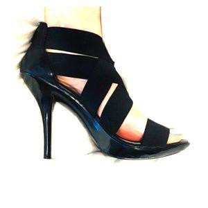 Fergie Elastic Strappy Heels